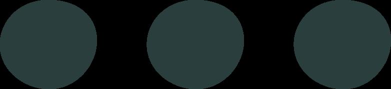 ellipsis Clipart illustration in PNG, SVG