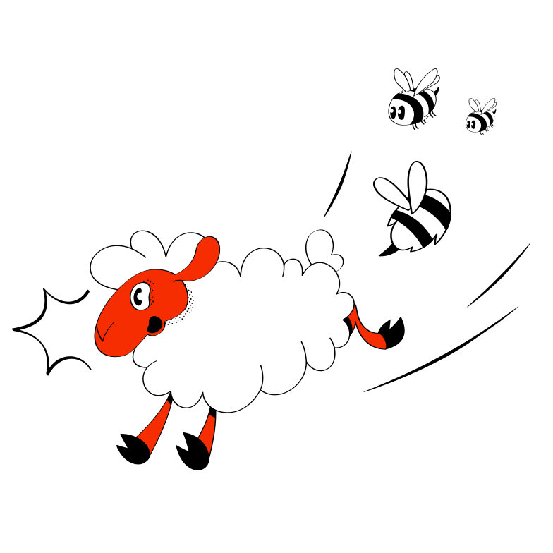 The Chase Clipart illustration in PNG, SVG