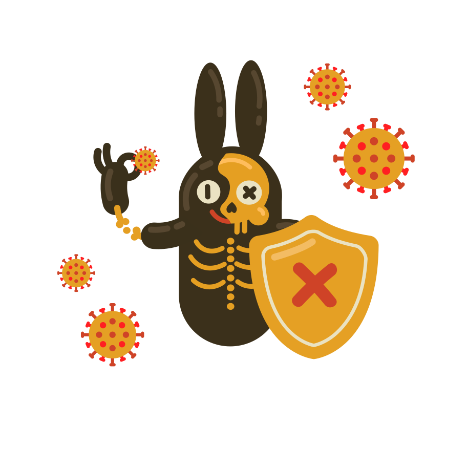 style Virus preventive measures. Destroy and defeat coronavirus Vector images in PNG and SVG | Icons8 Illustrations