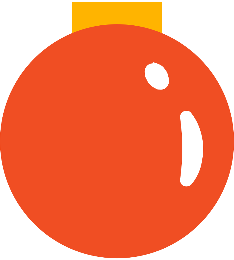 Ilustración de clipart de Bola navideña en PNG, SVG