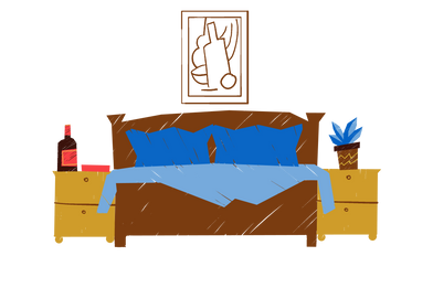 style Bedroom images in PNG and SVG | Icons8 Illustrations
