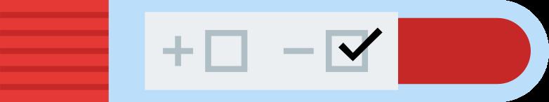 test result negative Clipart illustration in PNG, SVG