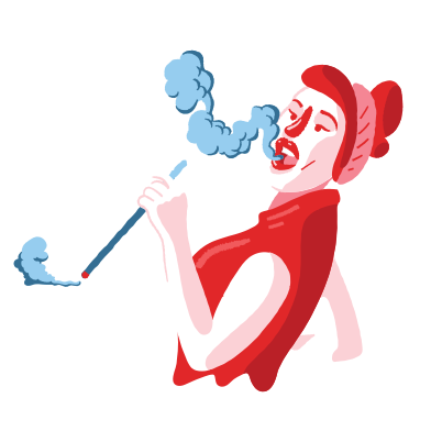 style Smoking images in PNG and SVG | Icons8 Illustrations