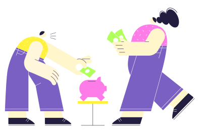 style Financial literacy images in PNG and SVG | Icons8 Illustrations