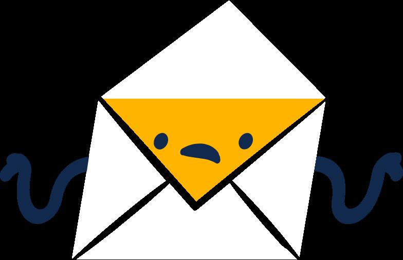 letter message Clipart illustration in PNG, SVG