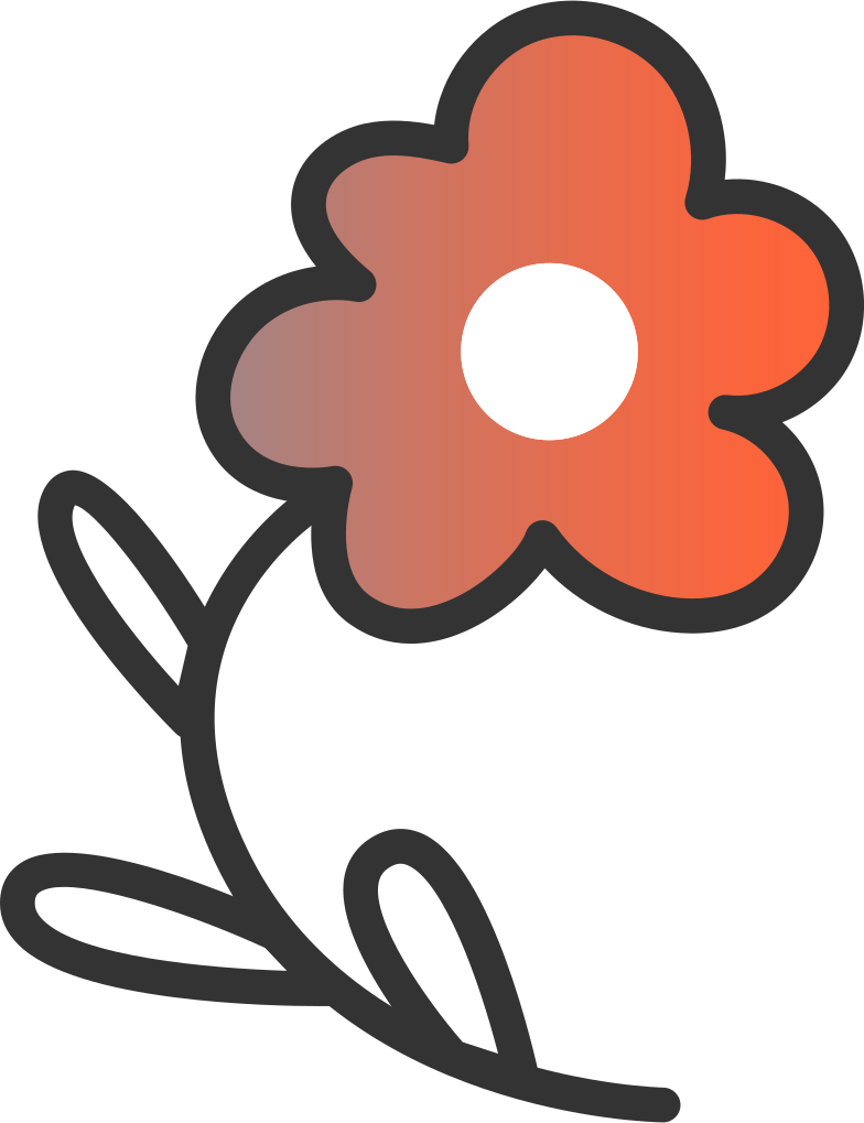 connection lost 2  flower Clipart illustration in PNG, SVG