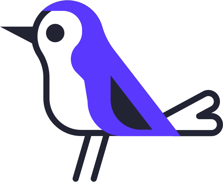 waiting  bird Clipart illustration in PNG, SVG