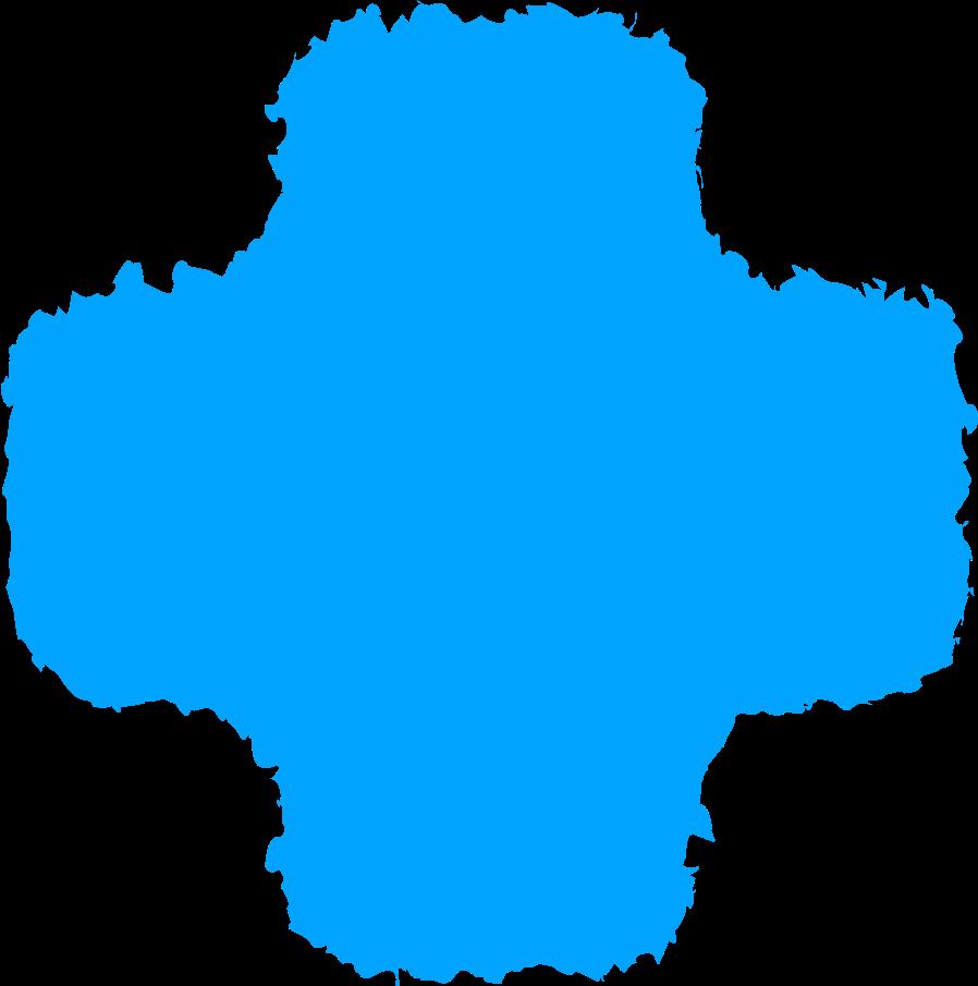 cross sky blue Clipart illustration in PNG, SVG