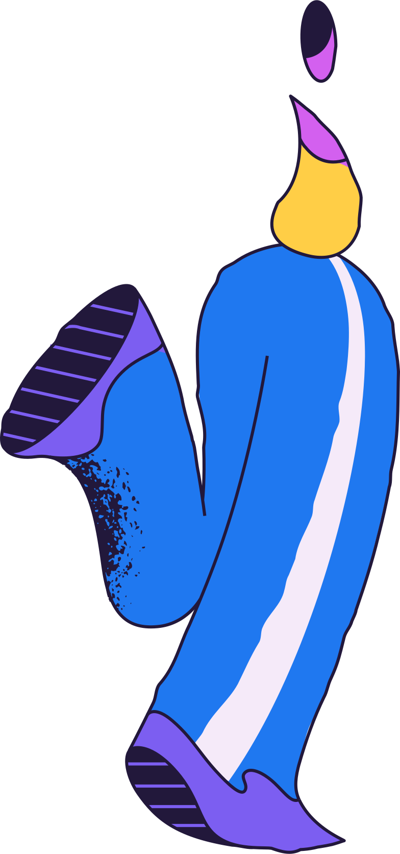 running person Clipart illustration in PNG, SVG