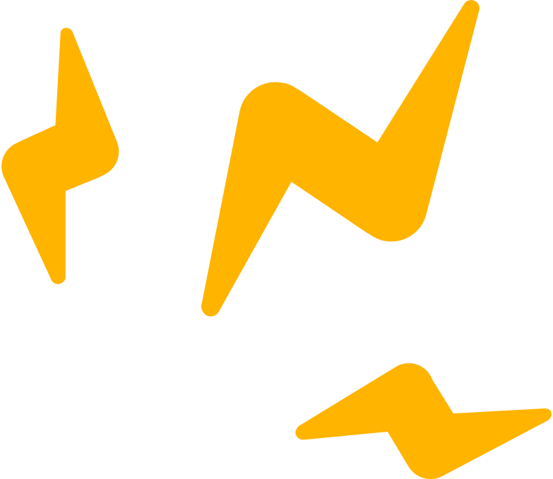 Decoração de faísca de relâmpago Clipart illustration in PNG, SVG