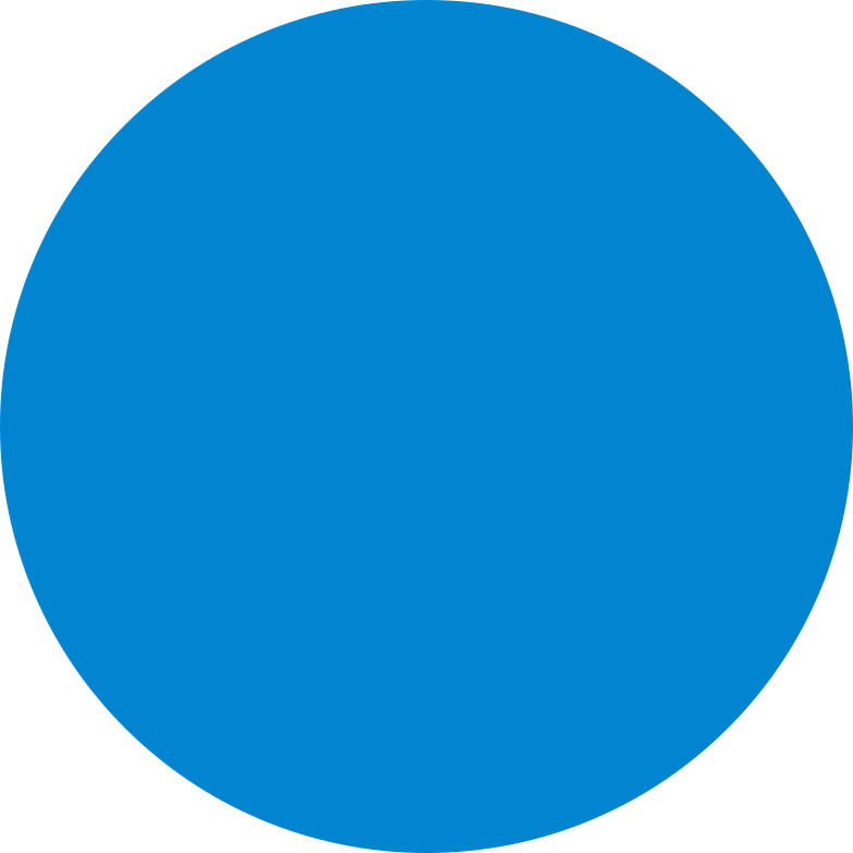 circle blue Clipart illustration in PNG, SVG