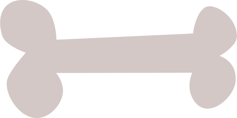 bone gray Clipart illustration in PNG, SVG