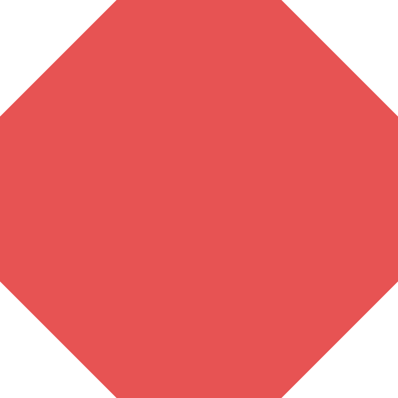 octagon-red Clipart illustration in PNG, SVG