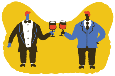 style Let's drink some wine images in PNG and SVG | Icons8 Illustrations