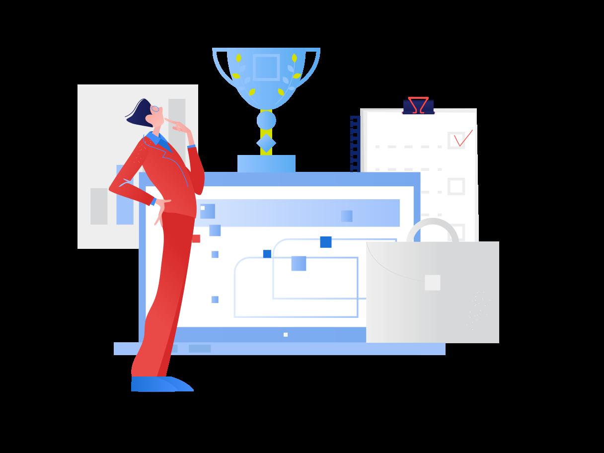 Best worker Clipart illustration in PNG, SVG
