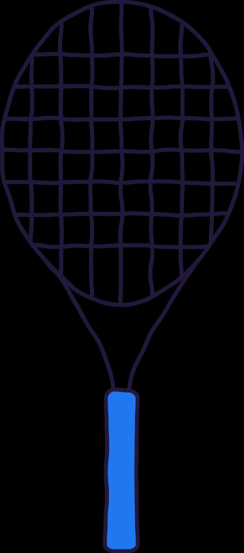 racket Clipart illustration in PNG, SVG