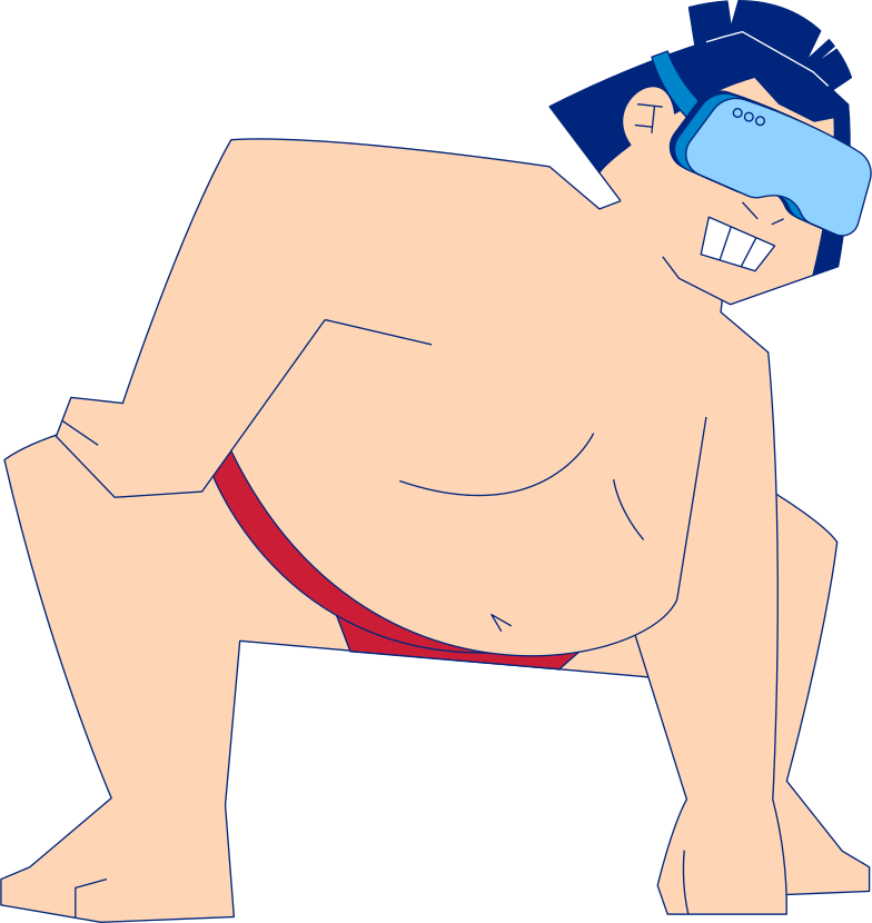sumo wrestler Clipart illustration in PNG, SVG