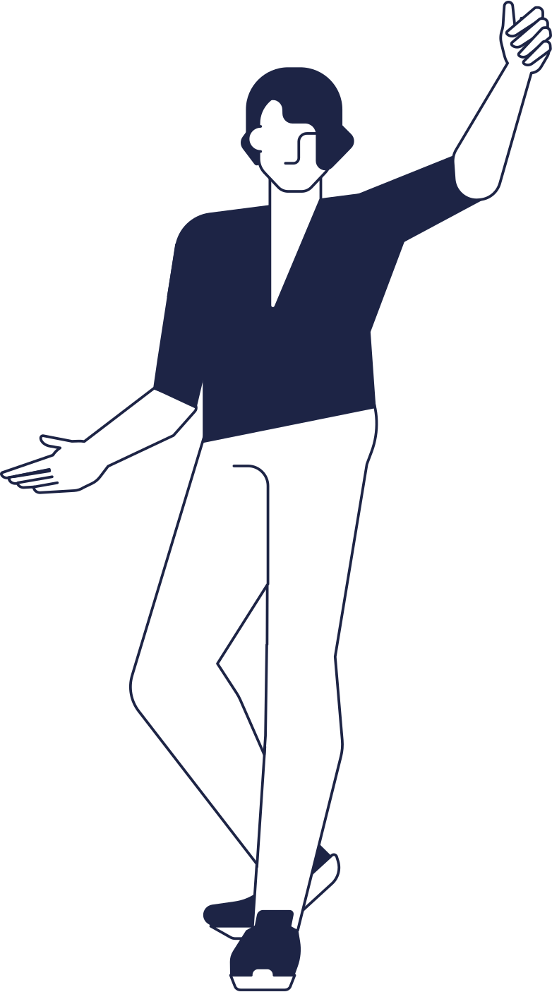 style man welcomes line Vector images in PNG and SVG | Icons8 Illustrations
