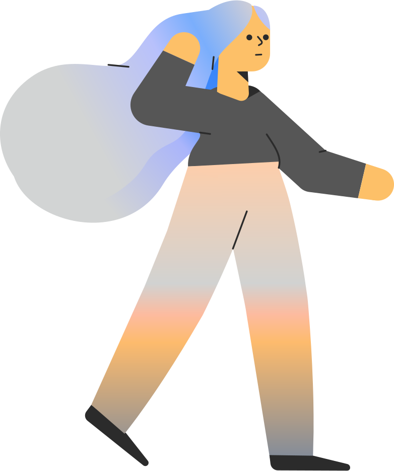 Иллюстрация девушка в стиле  в PNG и SVG | Icons8 Иллюстрации