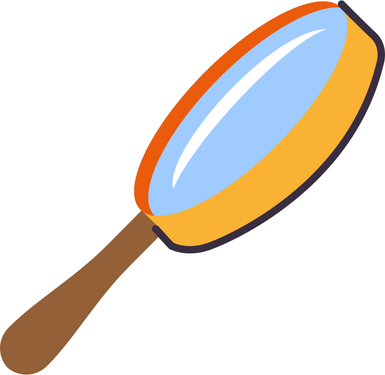 loupe Clipart illustration in PNG, SVG