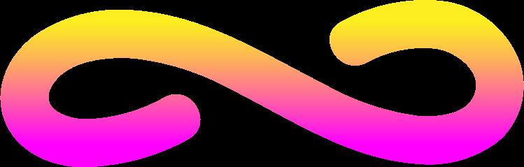 Vektorgrafik im  Stil rg pink gelb unendlich als PNG und SVG | Icons8 Grafiken