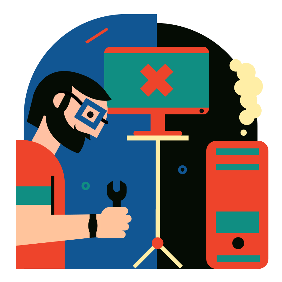 style Technical support Vector images in PNG and SVG | Icons8 Illustrations