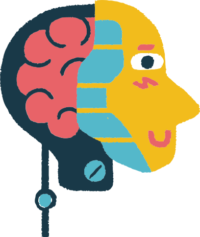 style head with brain images in PNG and SVG | Icons8 Illustrations