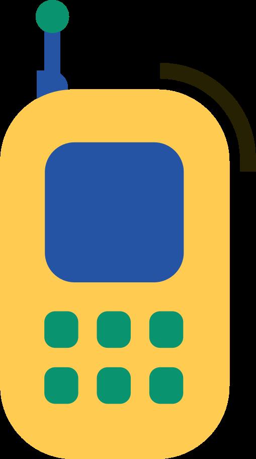 mobile phone Clipart illustration in PNG, SVG