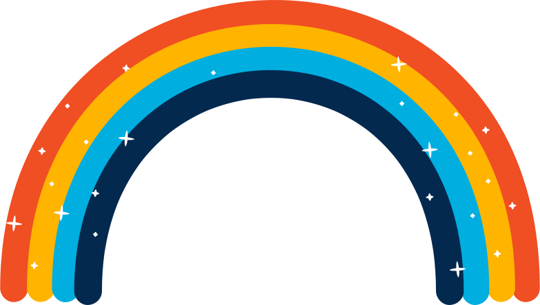 rainbow Clipart illustration in PNG, SVG