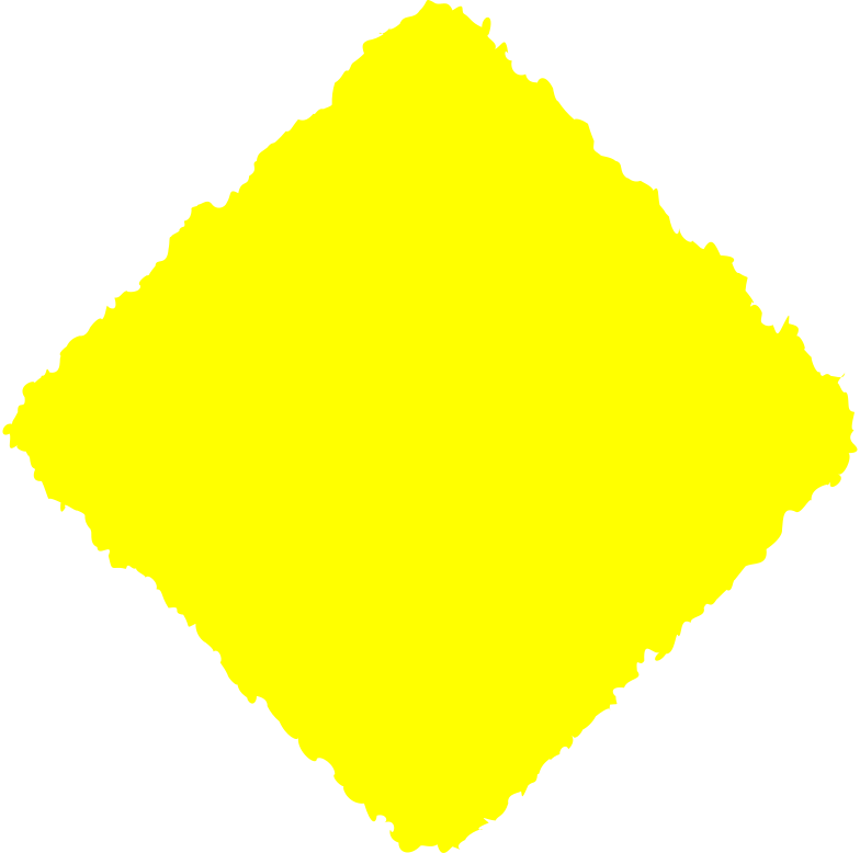 rhombus yellow Clipart illustration in PNG, SVG