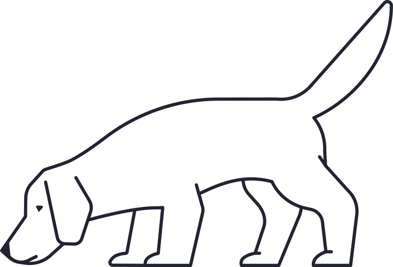 searching  dog Clipart illustration in PNG, SVG