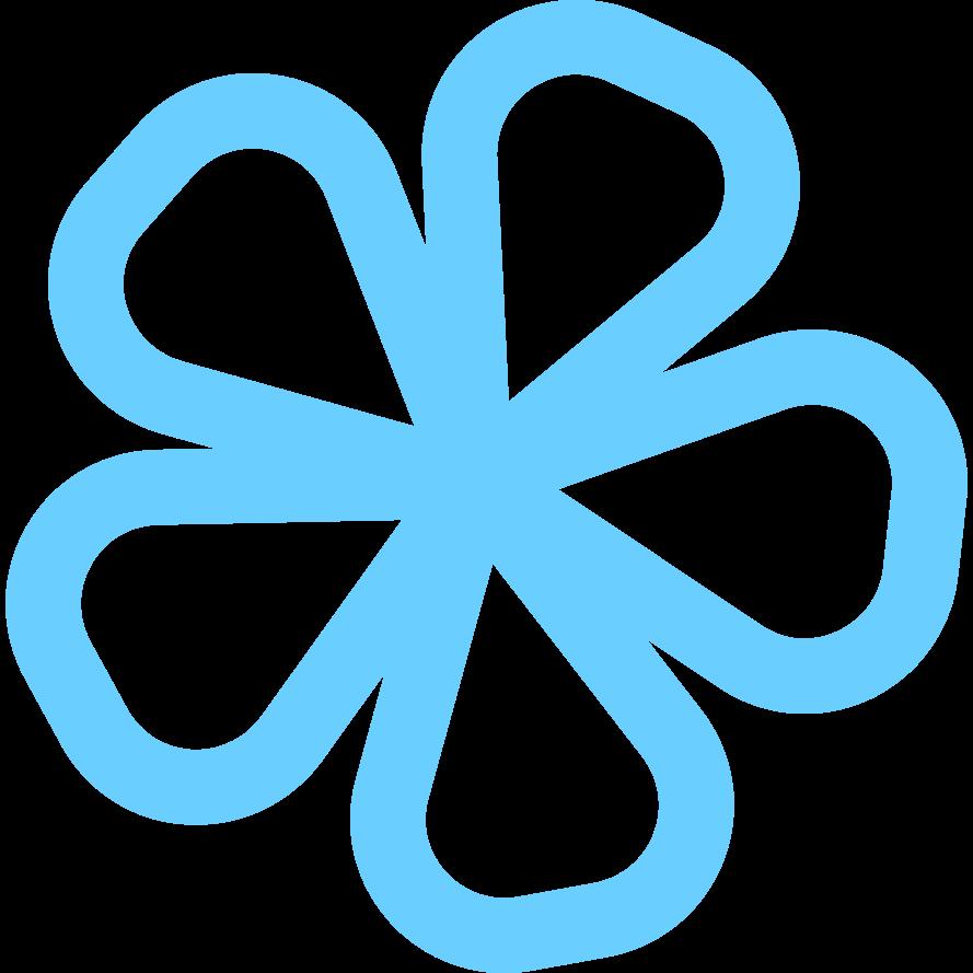 flower Clipart illustration in PNG, SVG
