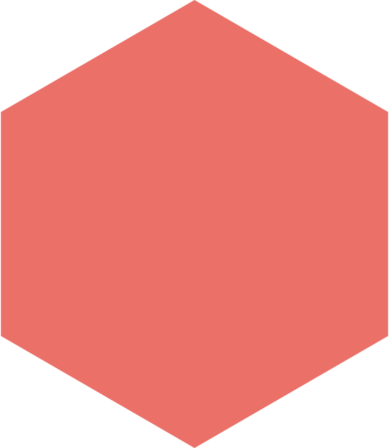 hexagon pink antique Clipart illustration in PNG, SVG
