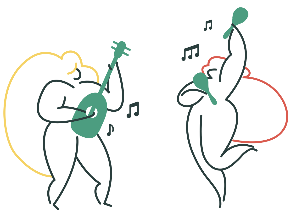style Playing music Vector images in PNG and SVG | Icons8 Illustrations