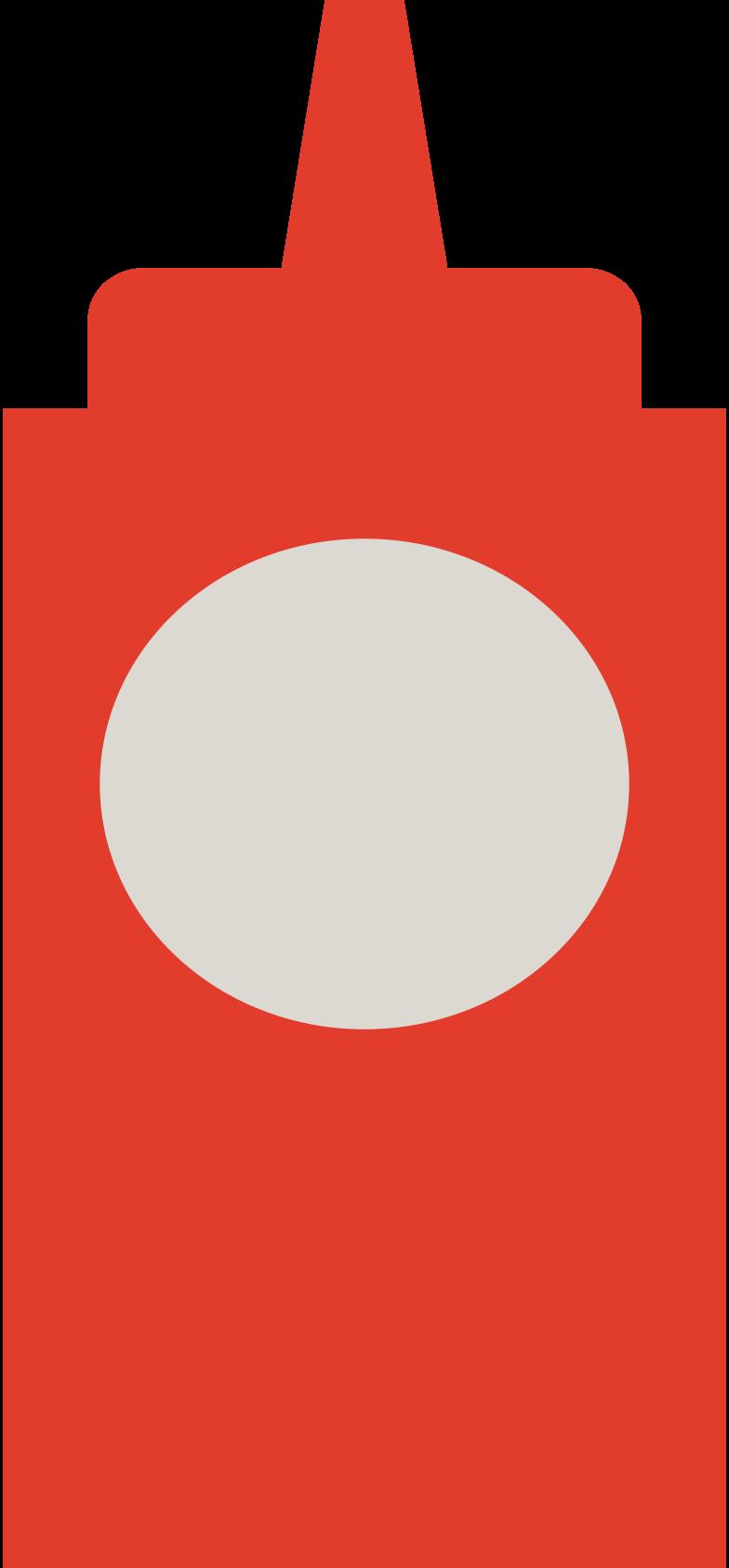 ketchup Clipart illustration in PNG, SVG