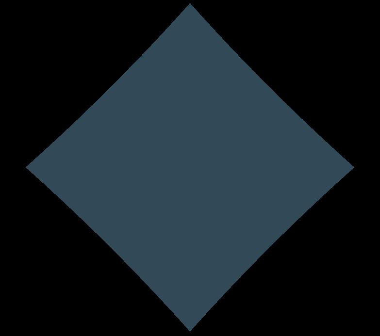 Иллюстрация Ромб darl blue в стиле  в PNG и SVG | Icons8 Иллюстрации