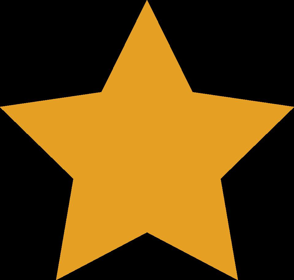 star orange Clipart illustration in PNG, SVG