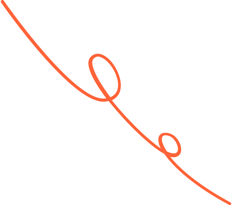 curly line red Clipart illustration in PNG, SVG