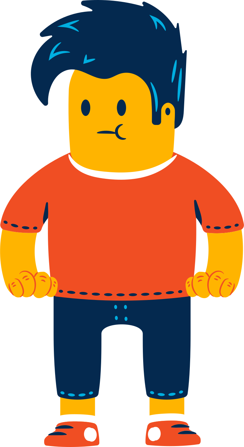 man waiting Clipart illustration in PNG, SVG