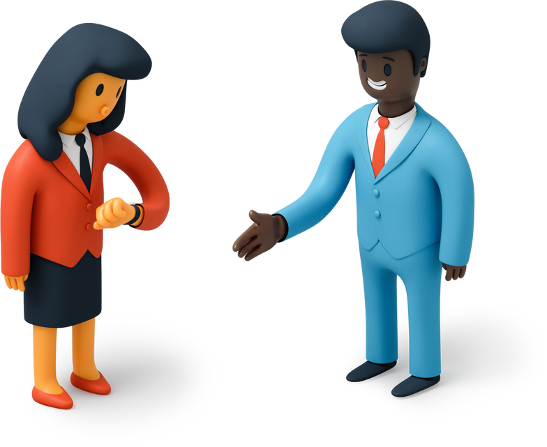 awkward man Clipart illustration in PNG, SVG