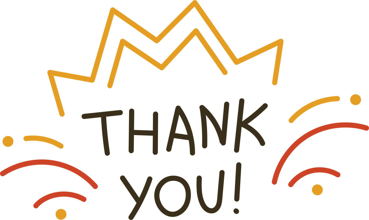 thank you Clipart illustration in PNG, SVG