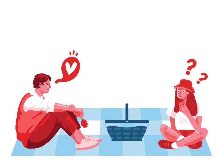 style Surprise on a picnic Vector images in PNG and SVG | Icons8 Illustrations