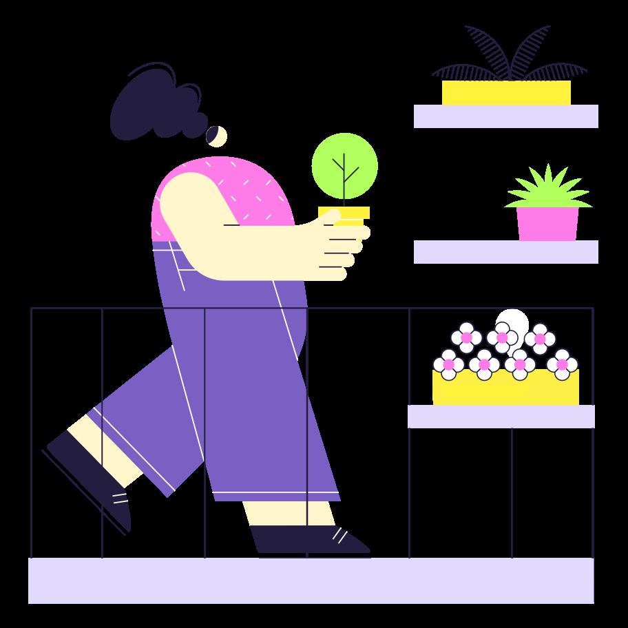 Kitchen garden Clipart illustration in PNG, SVG
