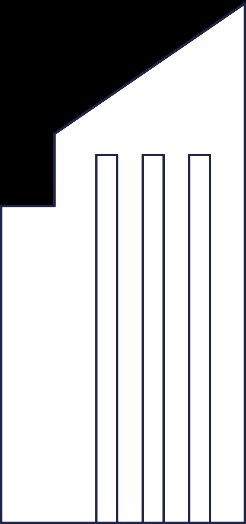 building 1 line Clipart illustration in PNG, SVG