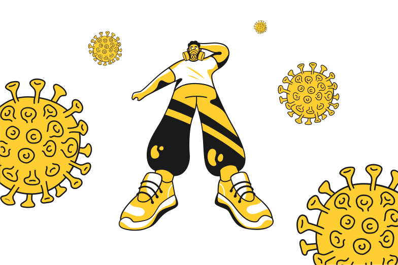 Antiviral protection Clipart illustration in PNG, SVG