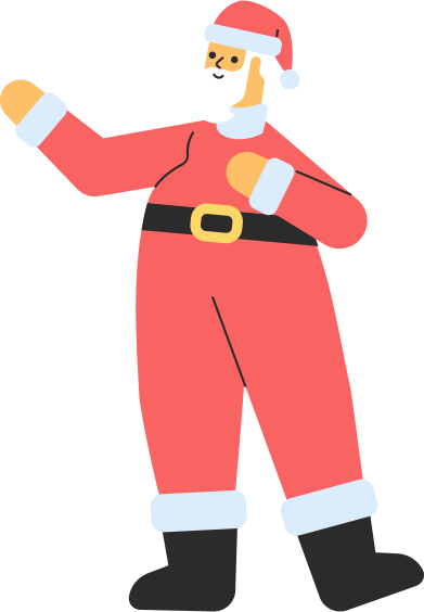 style santa standing images in PNG and SVG | Icons8 Illustrations