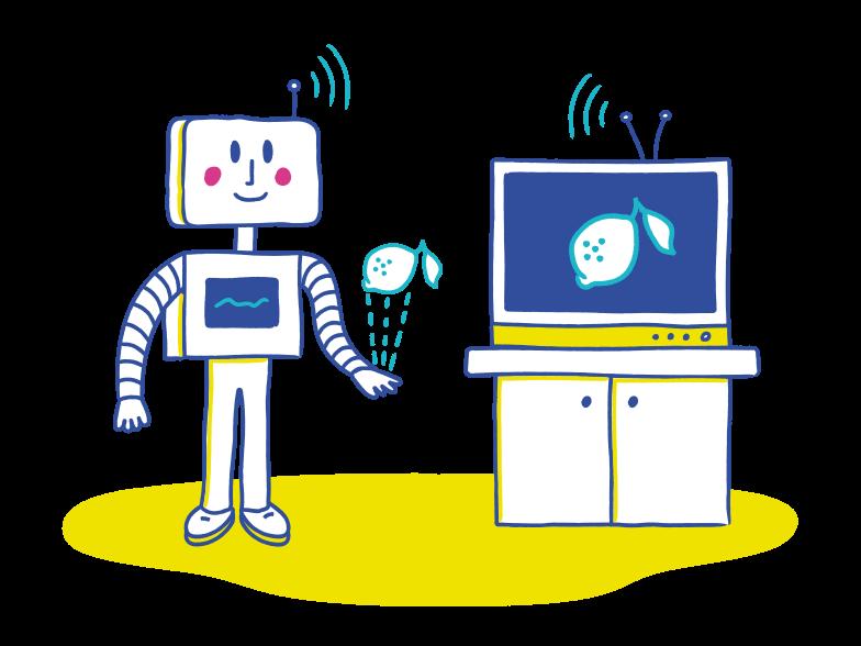 PNGとSVGの  スタイルの 人工知能 ベクターイメージ | Icons8 イラスト