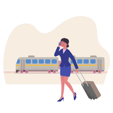 style Travel by train images in PNG and SVG | Icons8 Illustrations