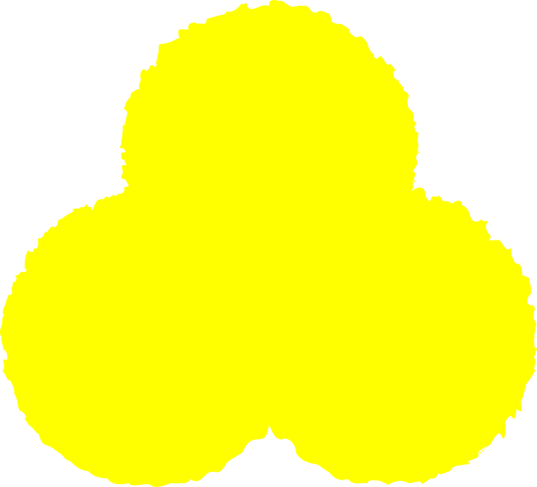 style trefoil yellow Vector images in PNG and SVG | Icons8 Illustrations