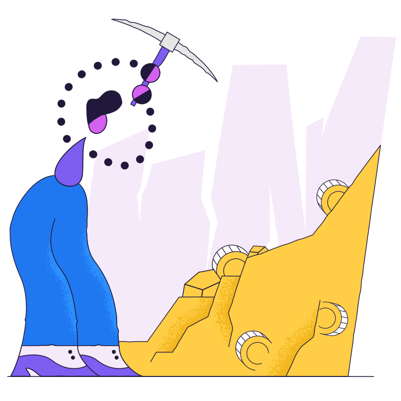Mining Clipart illustration in PNG, SVG
